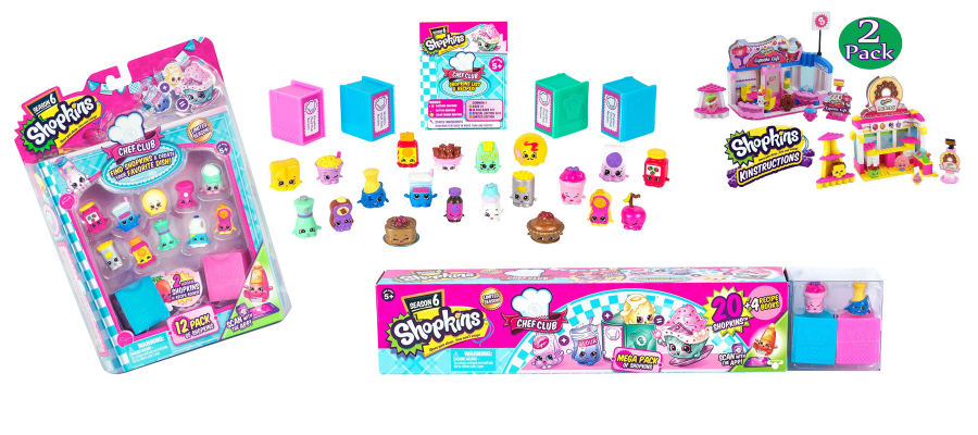 Imagine Favorite Meals and Recipes with These Season 6 Shopkins Toys