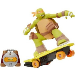 Teenage Mutant Ninja Turtle Skateboarding Mikey
