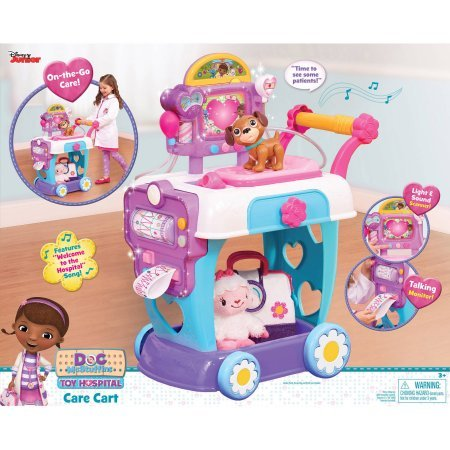 Doc McStuffins Toy Hospital Cart