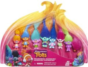 Trolls action figures collection